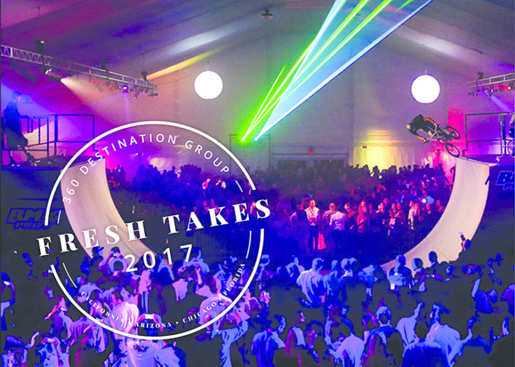 2017 Fresh Takes: 7 Ideas for Entertainment, Decor, and Activities at Signature Corporate Events