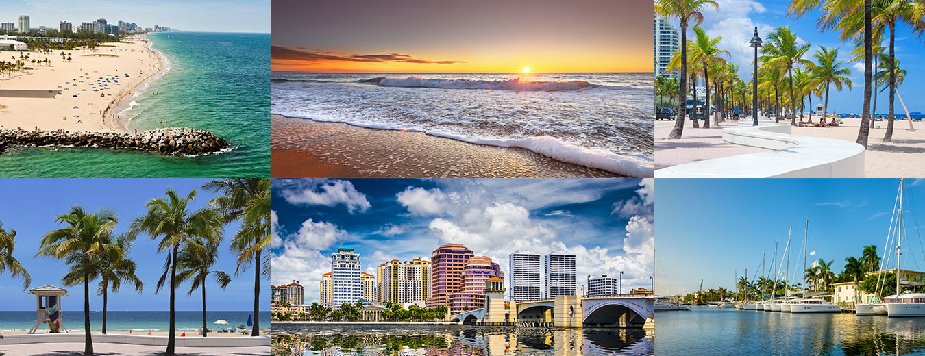 Palm Beach & Fort Lauderdale hero image